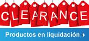 Productos en liquidación