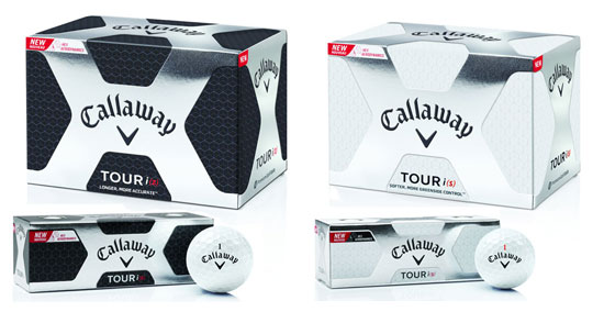 New Callaway Tour iZ and iS Balls