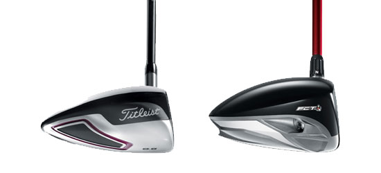 TaylorMade R9 and a Titleist D Comp driver