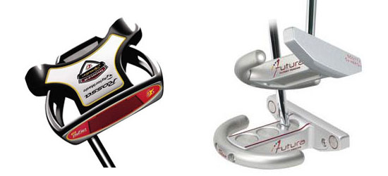 TaylorMade Rossa Spider and Scotty Cameron Futura putters