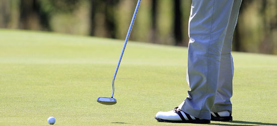 Bernard Langer with long putter