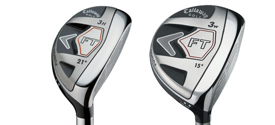 Callaway FT hybrid and fairway wood