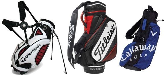Stand Tour and Pencil Golf Bags