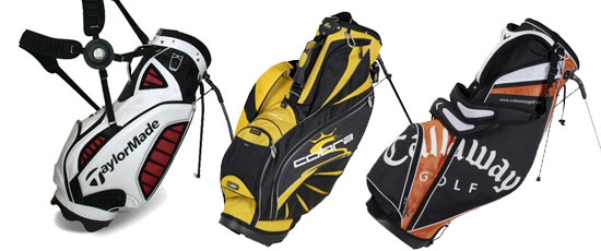 A Selection of Golf Stand Bags