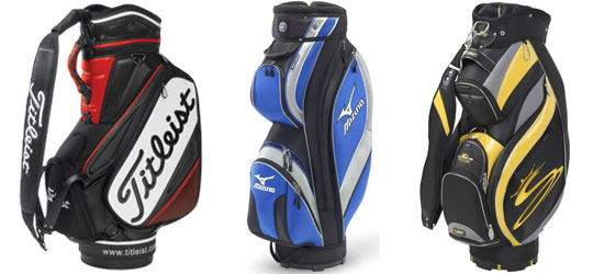 A Selection of Golf Tour and Cart Bags