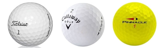 Selection of Golf Balls