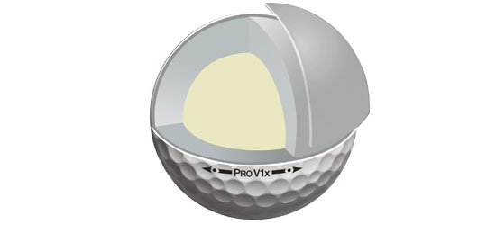 4-Piece Golf Ball Construction