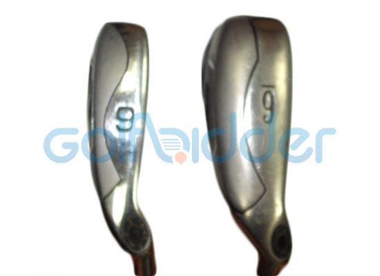 Genuine and Counterfeit Callaway Fusion Wide Sole irons - sole