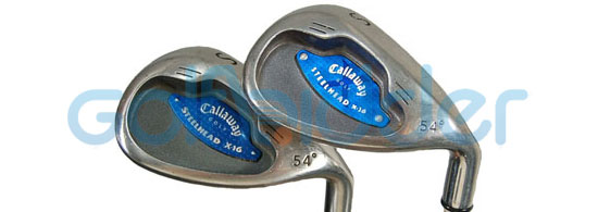 Genuine and Counterfeit Callaway X-16 irons