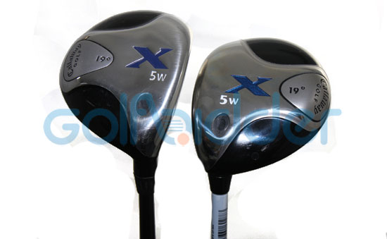 Genuine and Counterfeit Callaway X fairways