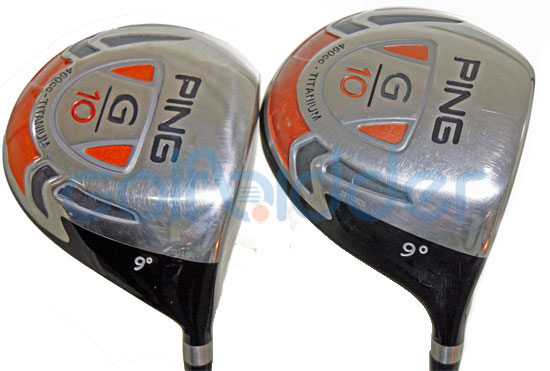 Genuine and Counterfeit Ping G10 drivers