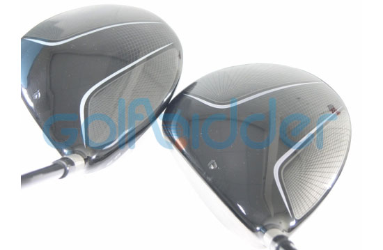 Genuine and Counterfeit TaylorMade Burner drivers - crown