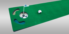 PGA Tour Putting Mat et Grip Trainer