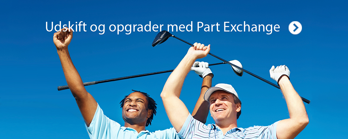 Udskift og opgrader med Part Exchange