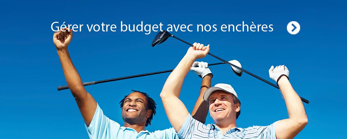 Gérer votre budget avec nos enchères