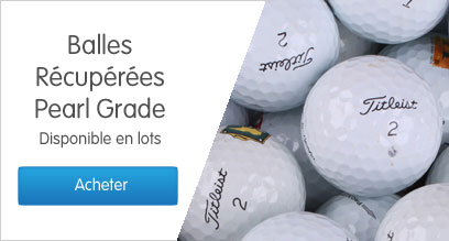 Balles récupérées Pearl Grade