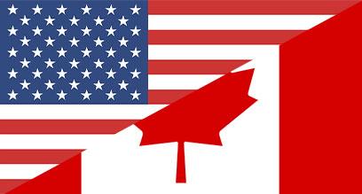 USA / Canada Flag