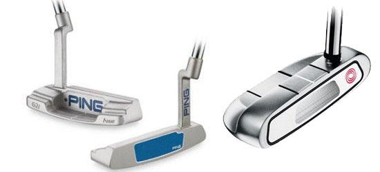 Ping Gi2 and Odyssey Rossie Steel Putter