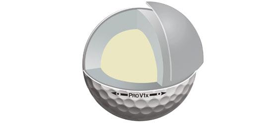 4-Piece Golf Ball Construction