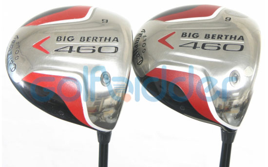 Geniune and Counterfeit Callaway Big Bertha 460 drivers