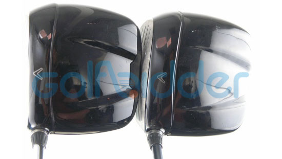 Genuine and Counterfeit Callaway FT-i drivers - crown