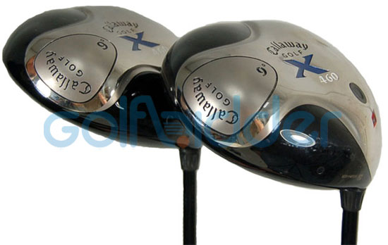 Genuine and Counterfeit Callaway X 460 drivers