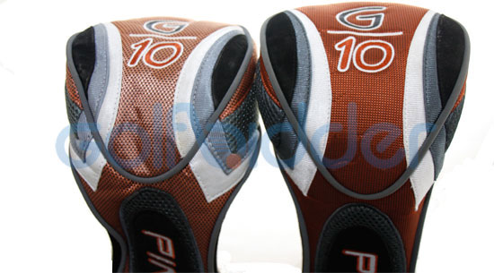 Genuine and Counterfeit Ping G10 driver headcovers