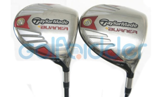 Genuine and Counterfeit TaylorMade 2007 Burner drivers - sole