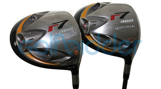 Genuine and Counterfeit TaylorMade r7 460 drivers