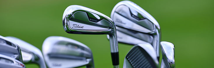 Titleist U505 utility iron and other clubs