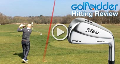Titleist 712U Driving Iron Hitting Review