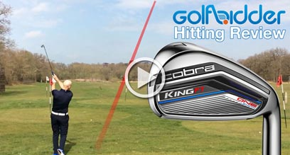 Cobra KING F7 ONE Length Irons Hitting Review