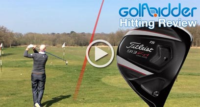 Titleist 913Fd Fairway Wood Hitting Review