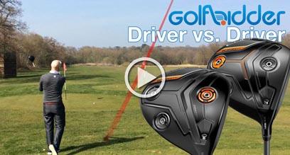 Cobra KING F7+ Driver vs. F7 Diver Hitting Review