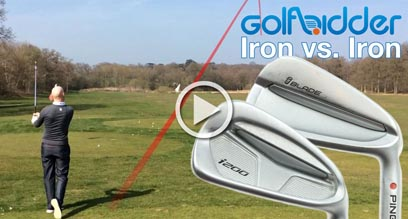 Ping iBlade Iron vs i200 Iron Hitting Review