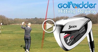 Srixon Z155 Iron Hitting Review