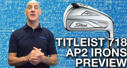 Titleist 718 AP2 Iron Preview