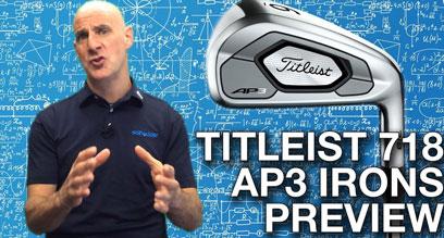 Titleist 718 AP3 Iron Preview