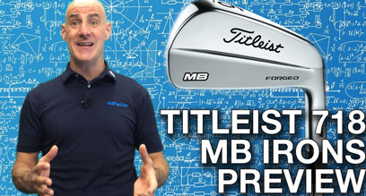 Titleist 718 MB Iron Preview