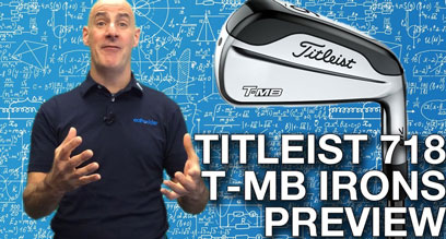 Titleist 718 T-MB Iron Preview