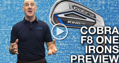 Cobra KING F8 ONE Length Irons Preview