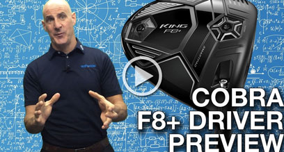 Cobra KING F8+ Driver Preview