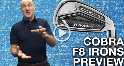 Cobra KING F8 Irons Preview