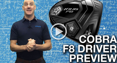 Cobra KING F8 Driver Preview