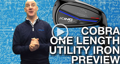 Cobra KING Utility ONE Length Preview