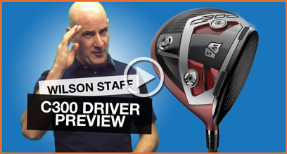 Wilson Staff C300 Driver: Technology Preview