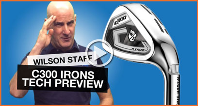 Wilson Staff C300 Irons: Technology Preview