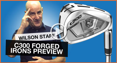 Wilson Staff C300 Forged Irons: Technology Preview