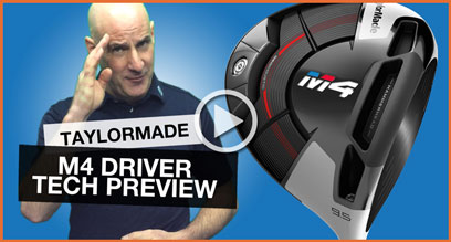 TaylorMade M4 Driver: Technology Preview