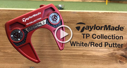 TaylorMade TP Collection Red & White Putters Preview